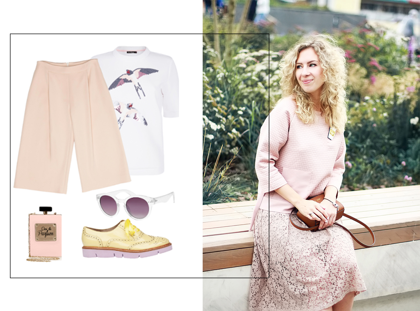 Margarita Maslova Ritalifestyle Fashion blogger Moscow Romantic style sport chic Pastel looks_pink_color