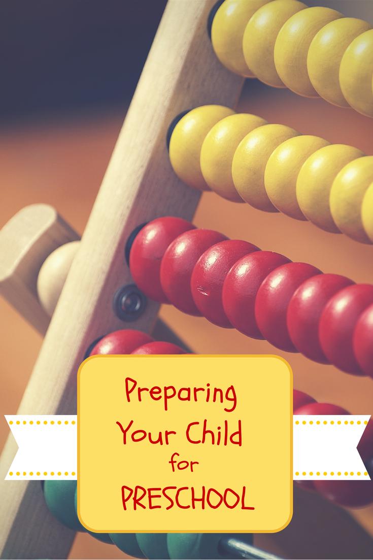 Preparing Your Child for Pre-School