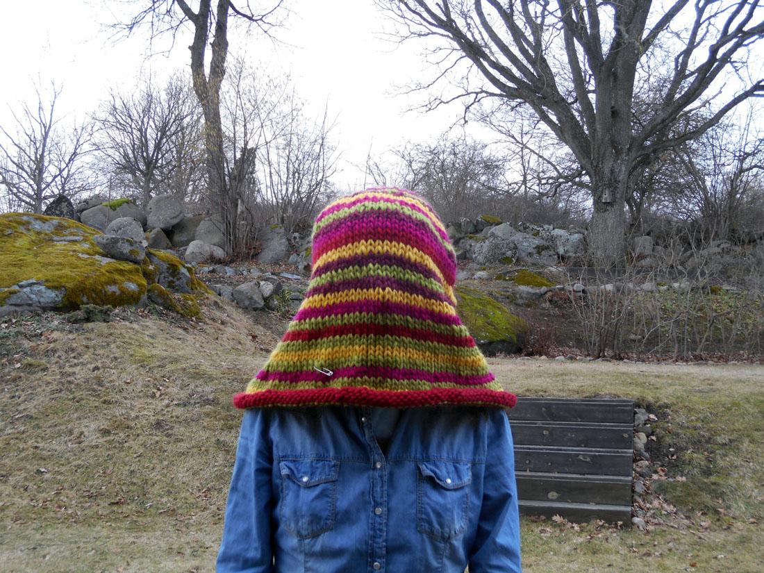 Cappello lana ESKIMO da infeltrire