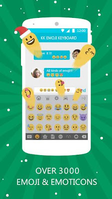 Emoji Keyboard - Emoticons(KK) 3.8.0 Game For Android Terbaru 2016