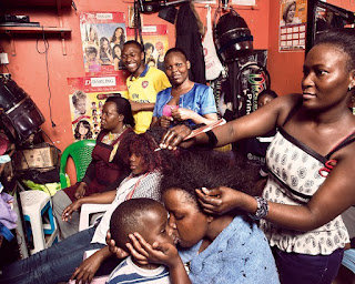 Alpha Omega beauty salon gazaland mall in Kampala Uganda Africa