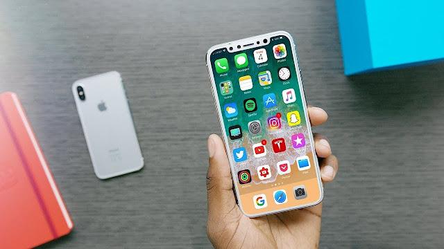 iPhone 8 Bezel less display confimed