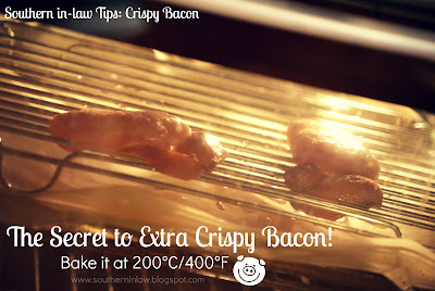 How to make Crispy Bacon in the Oven - Low fat cooking methods