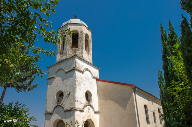 St. Demetrius (Св. Димитриј) church in village of Bareshani, Bitola Municipality, Macedonia