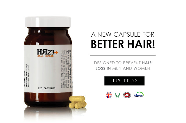 HR23+ new hair health capsules for treating hair loss