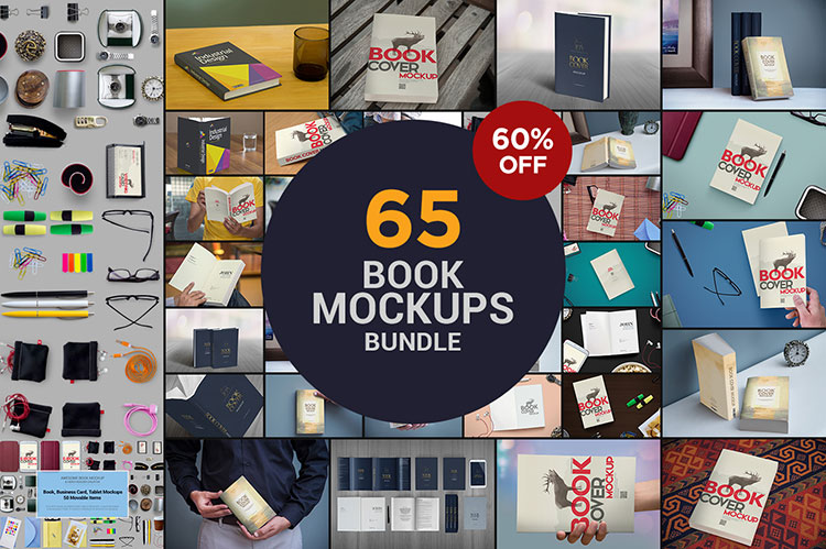The Book Mockups Bundle