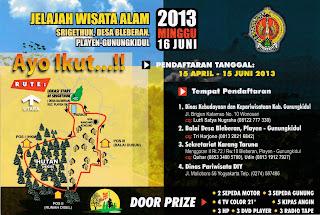 Jelajah Wisata Alam Sri Gethuk Gunungkidul 2013