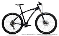 27.5 Inch Polygon Xtrada 6.0 Cross Country Mountain Bike