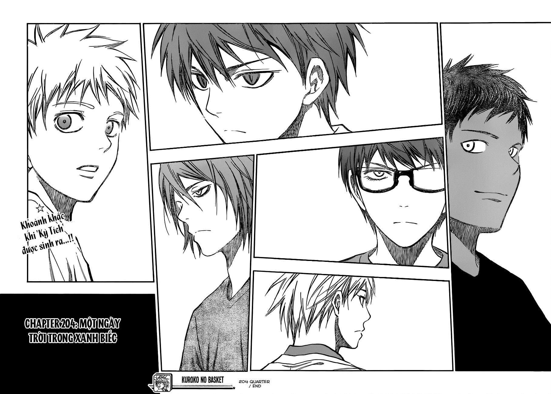 Kuroko No Basket chap 204 trang 19