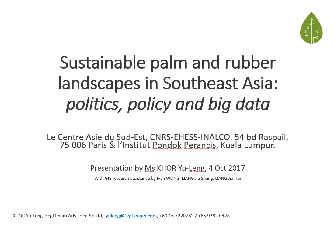 palm case study The local impacts of oil palm expansion in malaysia an assessment based on a case study in sabah state awang ali bema dayang norwana world wide fund for nature (wwf-malaysia.