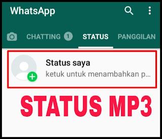 Cara Membuat Status Lagu (Musik, MP3) di WhatsApp Dengan Mudah