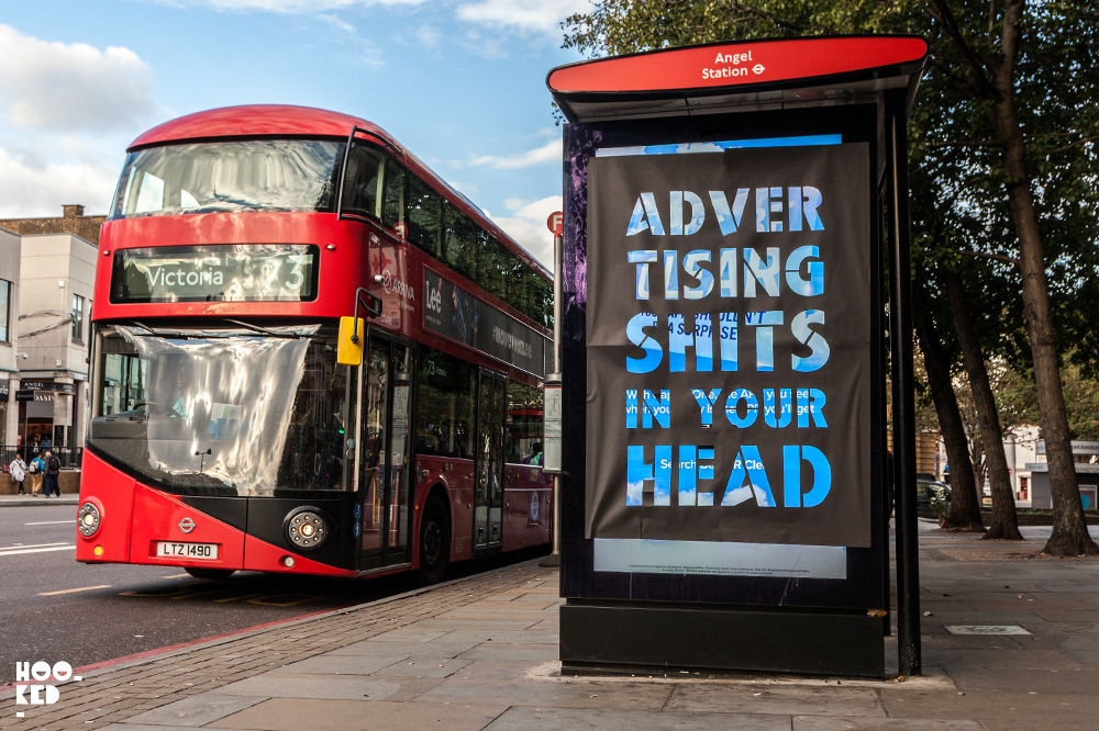 Advertising Shits In Your Head (Strategies For Resistance) Adbusting in London