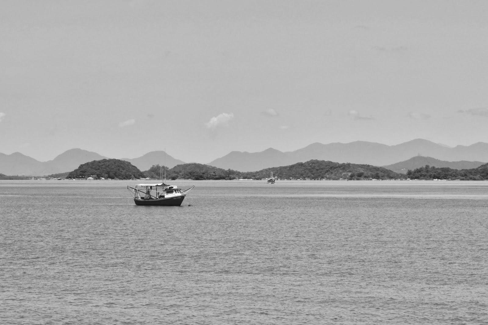 Baía da Babitonga, em São Francisco do Sul, no litoral de Santa Catarina.