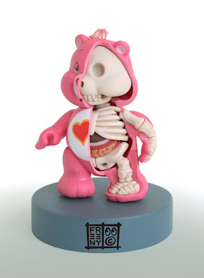 dissected care bear