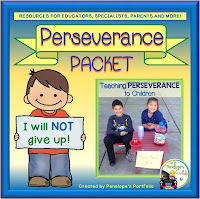 Perseverance Character Education - Social Skills Teaching Packet