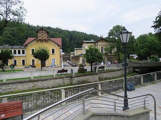 Stare Łazienki i Łazienki Borowinowe.