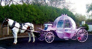 Pink Cinderella Wedding Carriages
