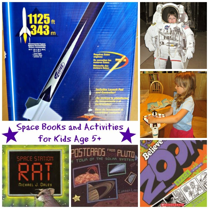 Space Books and Activities for Kids Age 5+