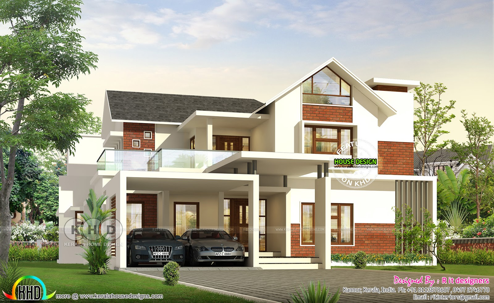 January 2020 Kerala Home Design And Floor Plans 8000 Houses