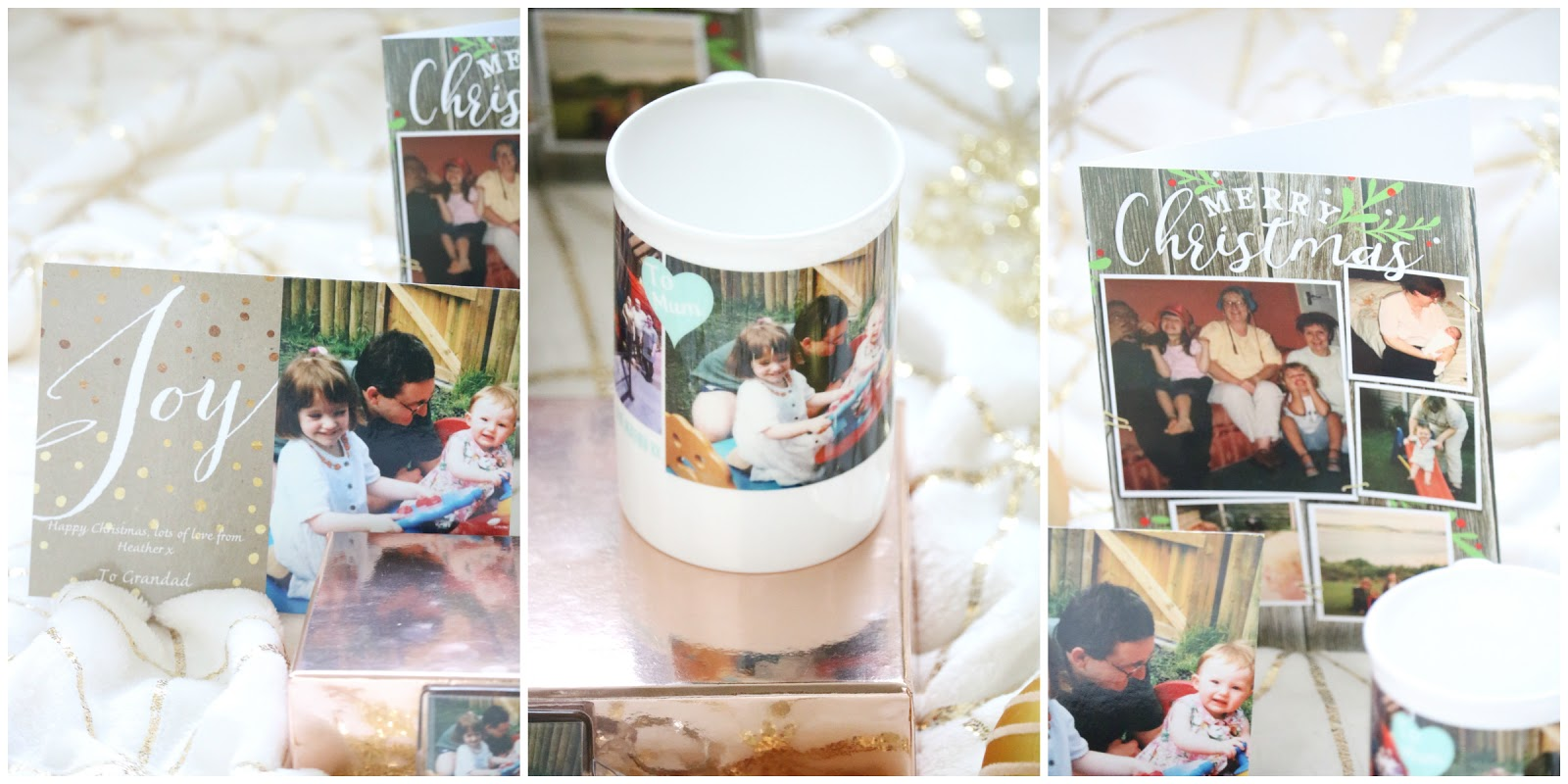 Personalised Gifts + Christmas Cards with Snapfish • Of Beauty And ...