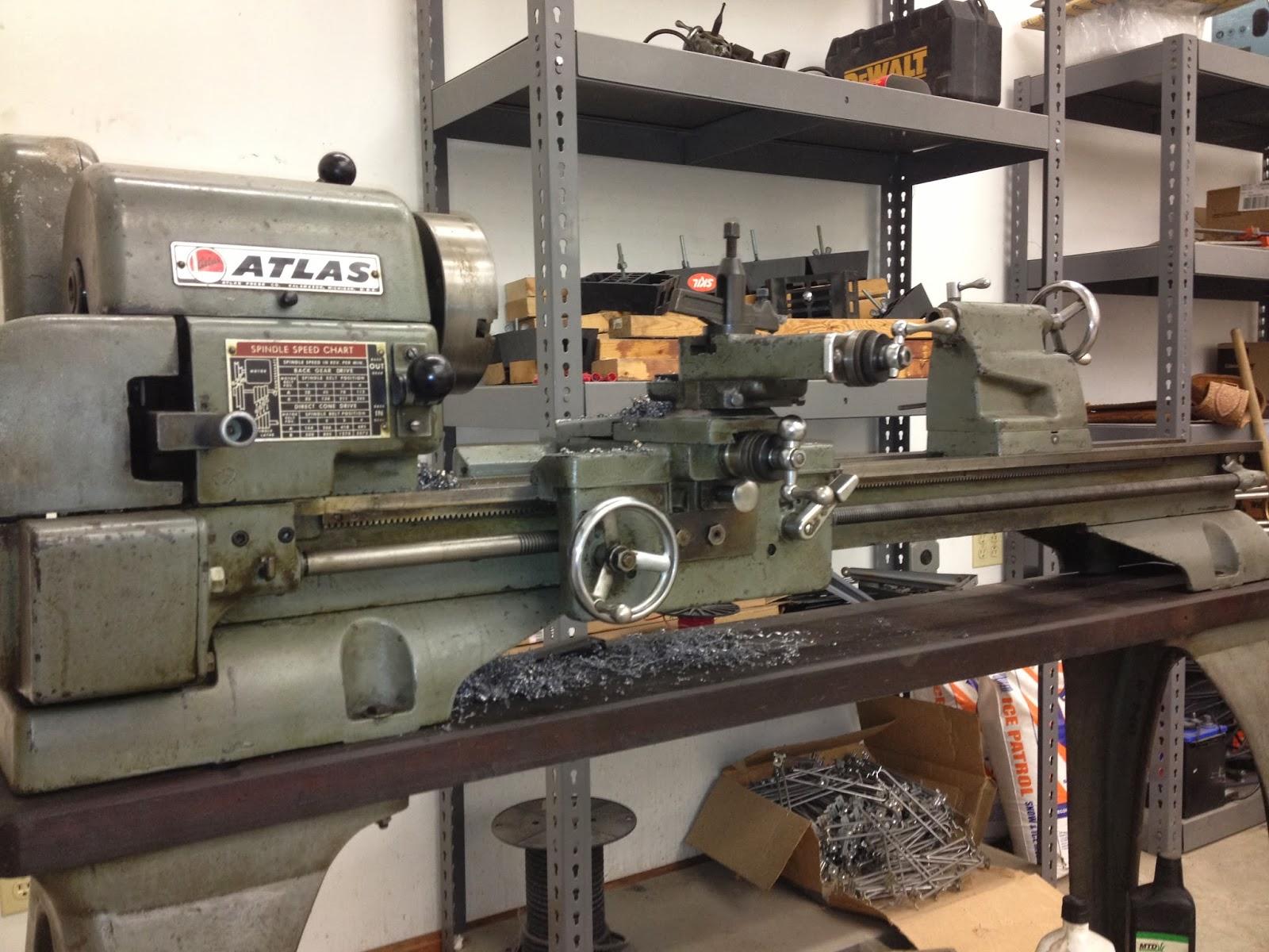 Atlas Metal Lathe Model 618
