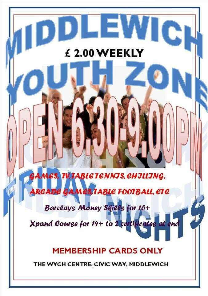 MIDDLEWICH YOUTH ZONE