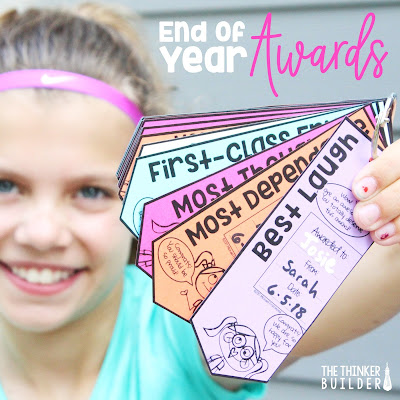Tips, ideas, and resources for giving students end of the year awards that are both fun and memorable.