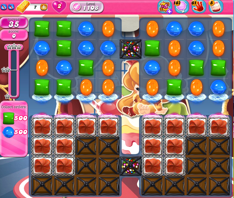 Candy Crush Saga 1108