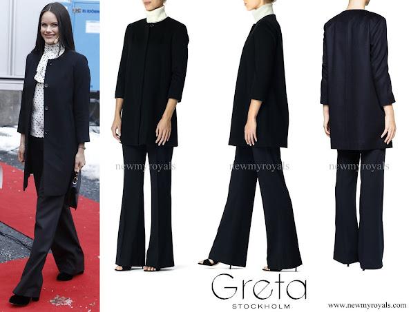 Princess Sofia wore Greta Hedvig cashmere coat