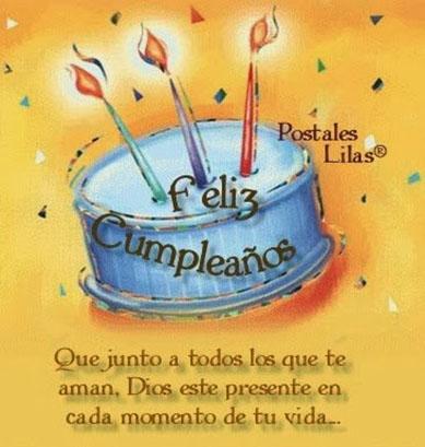 feliz cumpleaños tarjeta