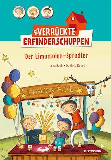 Cover von Lena Hach - Der Verrückte Erfinderschuppen. Der Limonaden-Sprudler