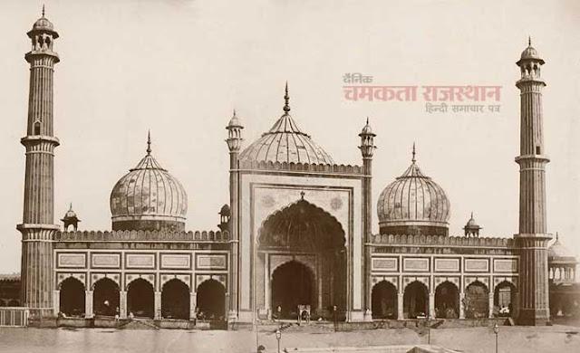 कैमरे ने वो देखा जो किसी ने नहीं देखा,  Jama Masjid1858