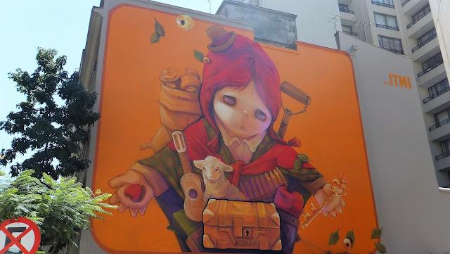 INTI, Santiago de Chile, street art, Pastora, Barrio Italia, Bellavista, Cerro San Cristobal, elisaorigami, travel, blogger, voyages, lifestyle