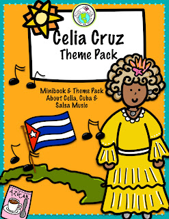 Teach about Celia Cruz in Spanish class