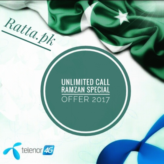 Unlimited Calls Telenor Ramazan Special Offer 2017