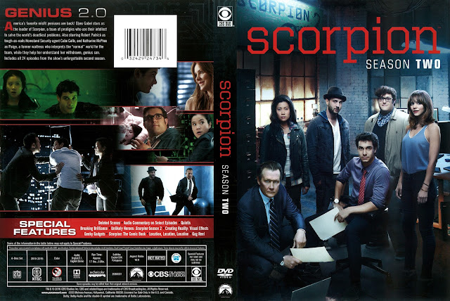 Scorpion Season 2 DVD Cover
