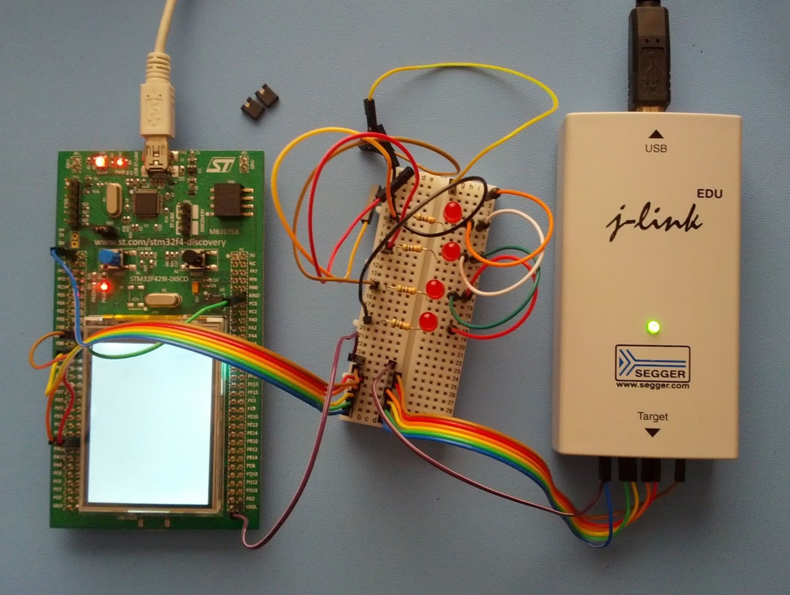Forward in code: Recovering an STM32F4 board