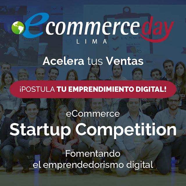 Los emprendedores digitales peruanos podrán participar de la edición 2016 del eCommerce Startup Competition