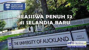 Beasiswa Penuh S2 di University of Auckland, Selandia Baru