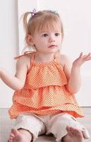 patrón de blusa de niña