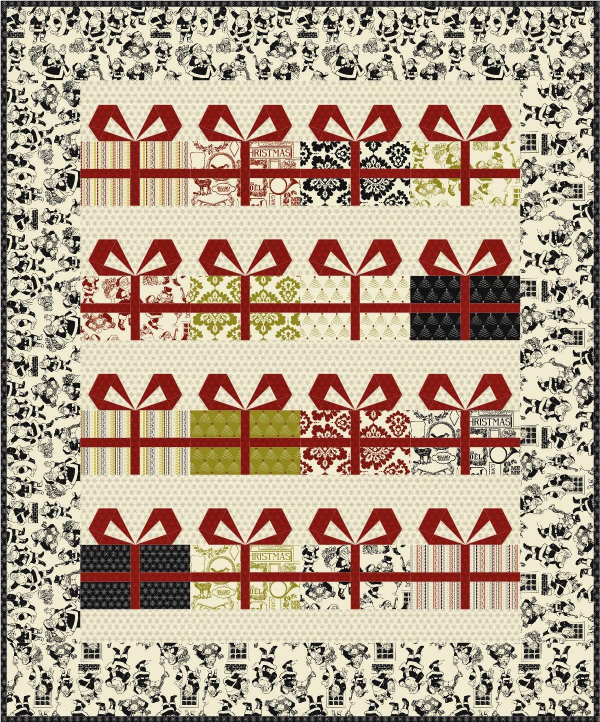 quilt inspiration free pattern day christmas part 2 gifts