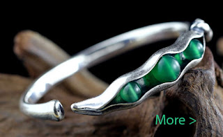 Jade jewelry bangle