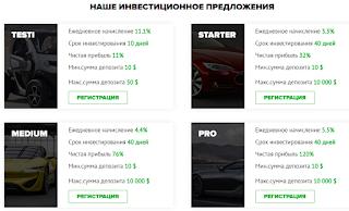 Инвестиционные планы TC Auto