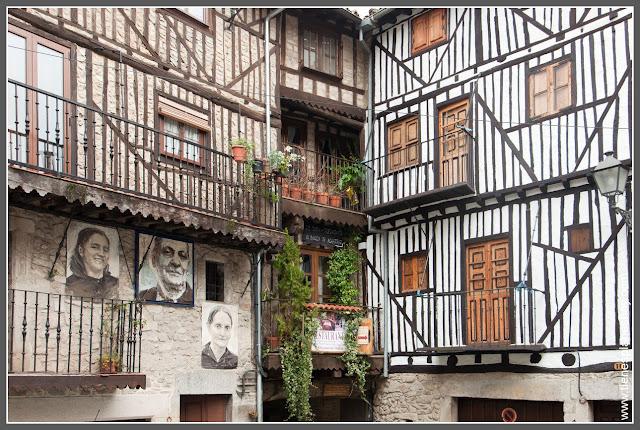 Fachadas Mogarraz Salamanca