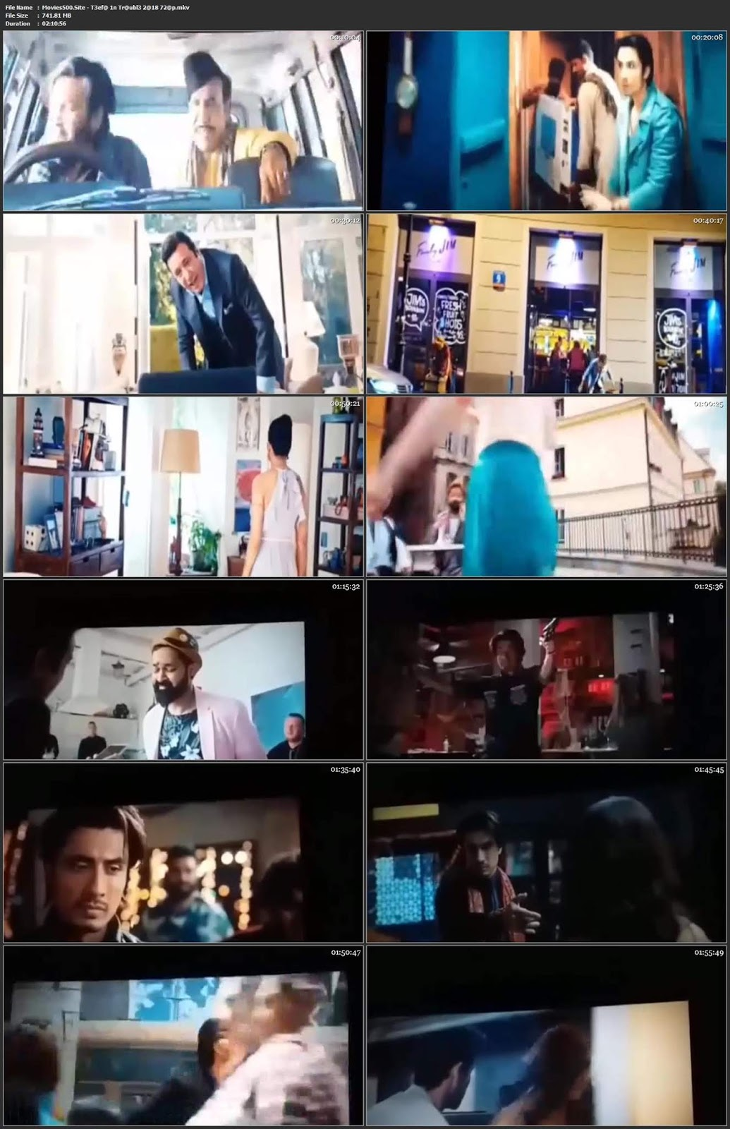 Teefa In Trouble 2018 Urdu 300MB Movie pDVDRip 480p