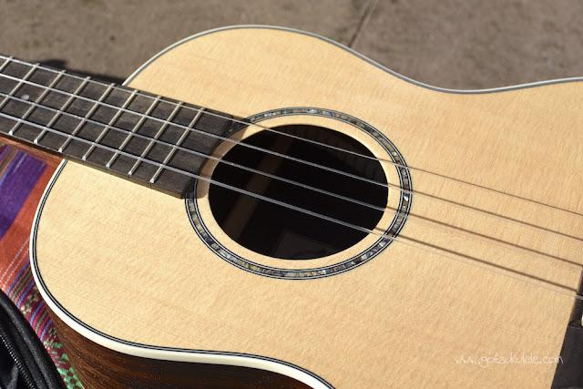 Ohana BK-70 Baritone ukulele sound hole