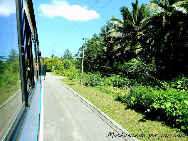mahe seychelles transporte
