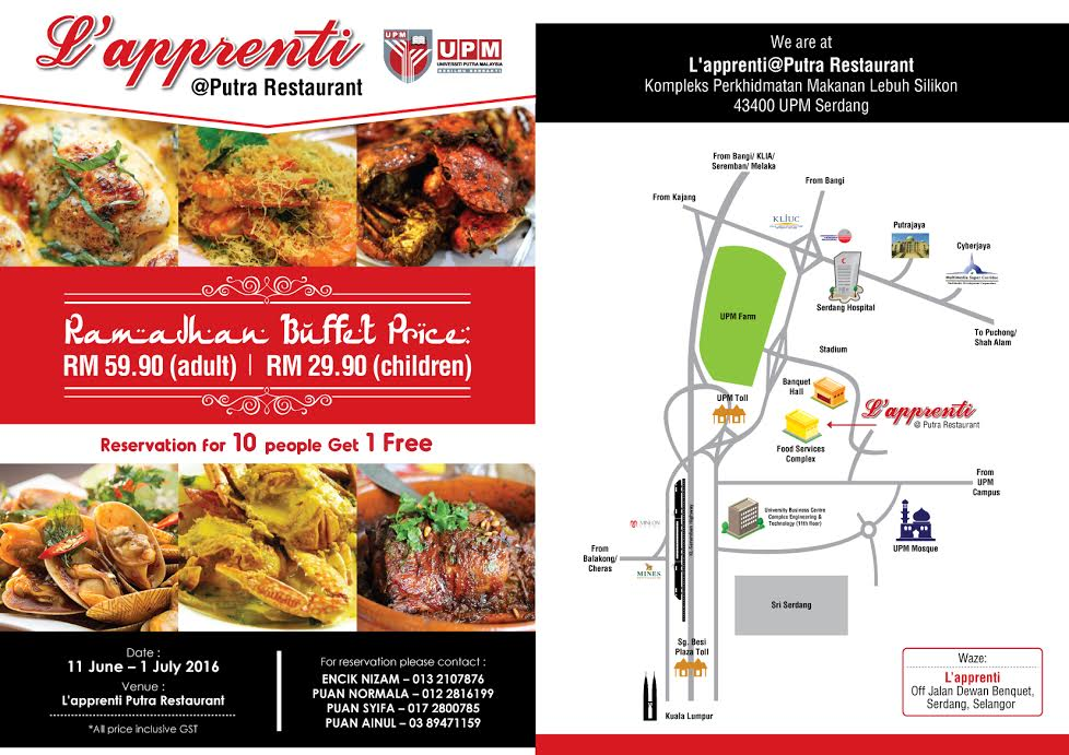 peta lokasi/ flyer