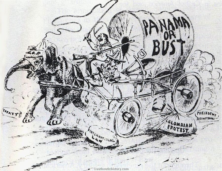 American imperialism political cartoons