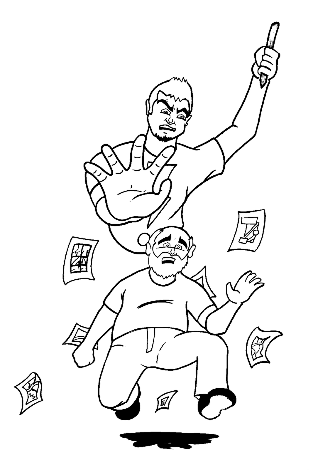 Free coloring pages of feel better soon for Feel better coloring pages